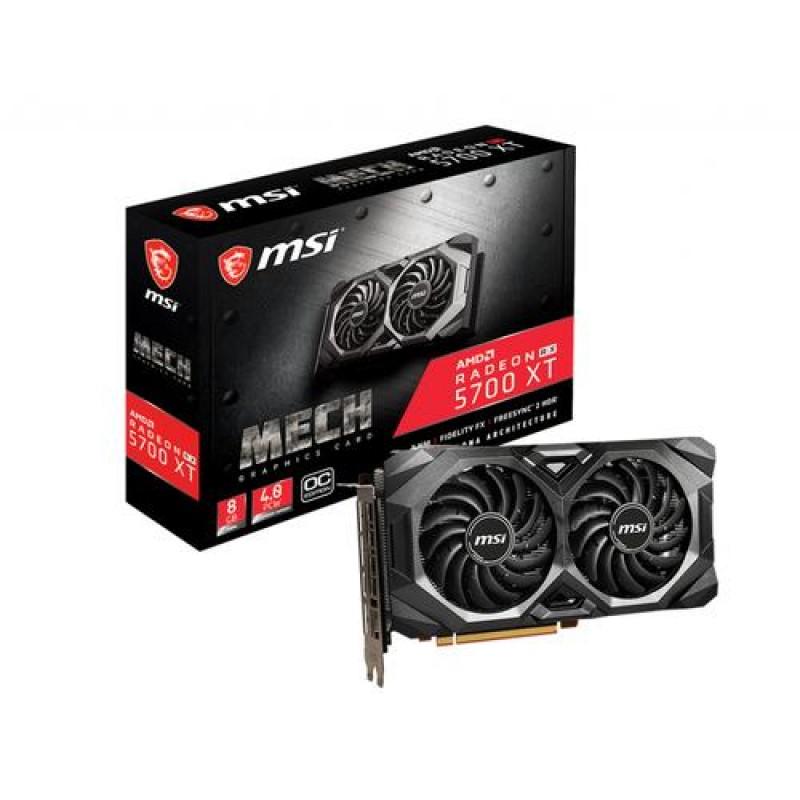 MSI Radeon RX 5700 XT MECH OC 8 GB GDDR6 Black