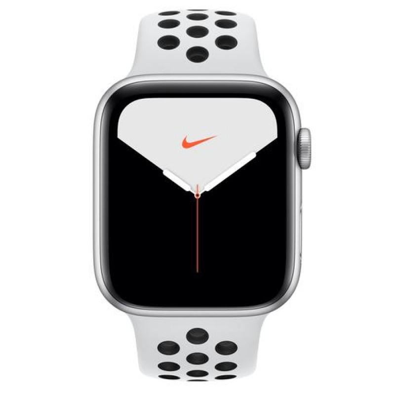 Apple Watch Nike Series 5 smartwatch Silver OLED Cellular GPS (satellite)