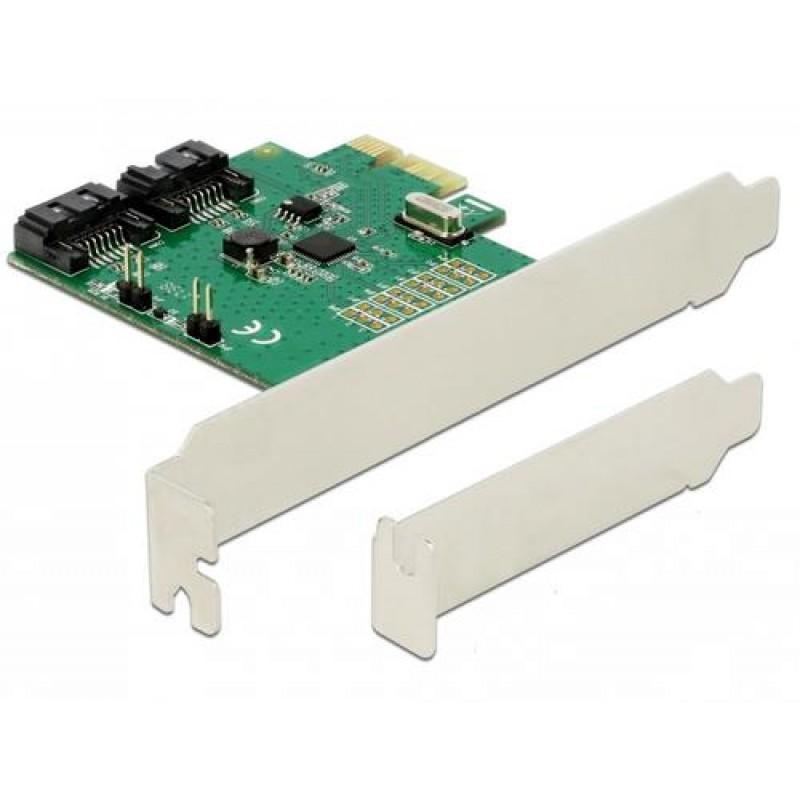 DeLOCK 90392 interface cards/adapter SATA Internal
