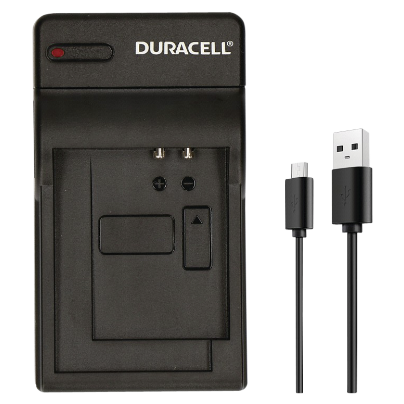 Duracell Charger w USB Cable for GoPro Hero 5 and 6 Battery