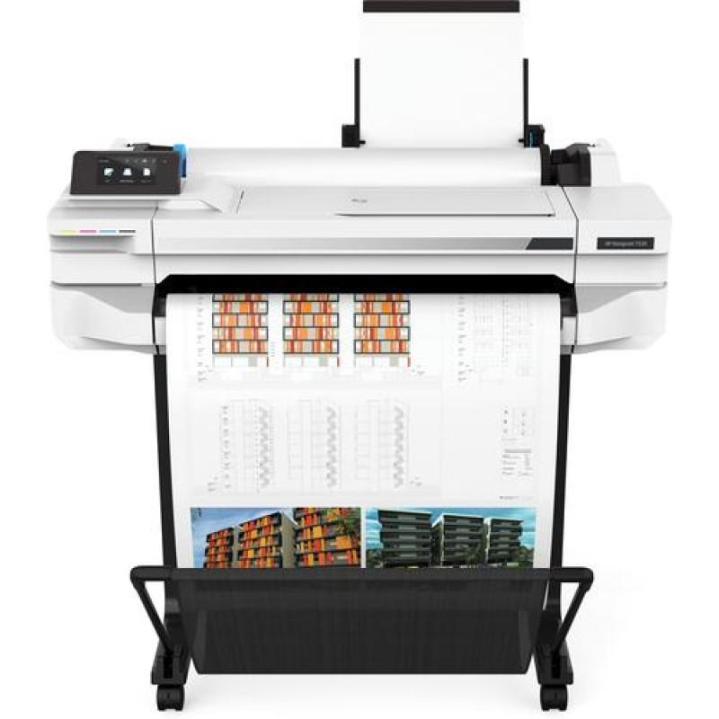 HP Designjet T530 large format printer Colour 2400 x 1200 DPI Thermal inkjet Ethernet LAN Wi-Fi White