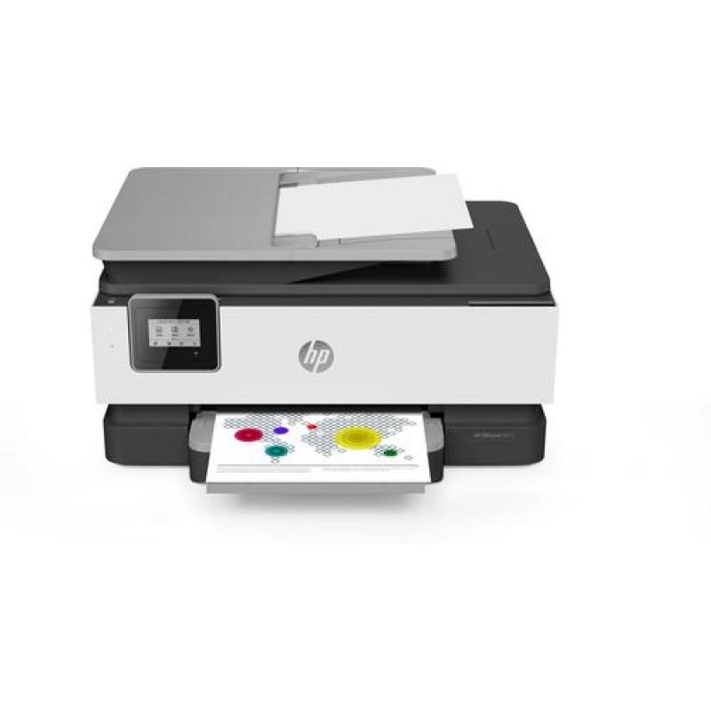 HP OfficeJet 8012 Thermal Inkjet 18 ppm 4800 x 1200 DPI A4 Wi-Fi Grey