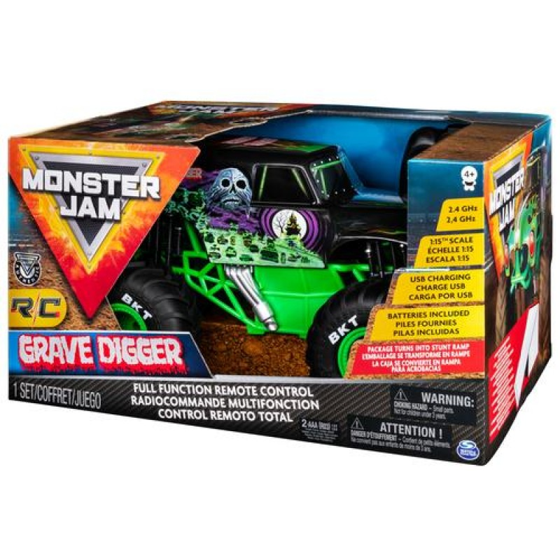 Monster Jam 1:15 RC - Gravedigger