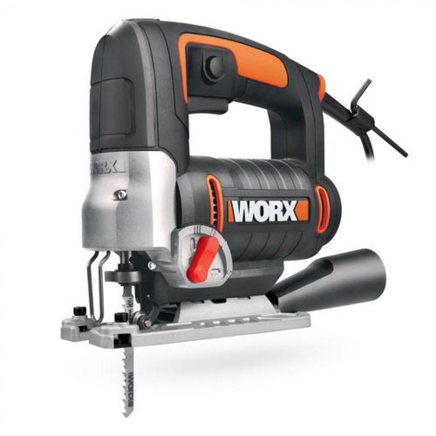 WORX WX479 power jigsaw 750 W 2.3 kg 3100 spm Black,Orange