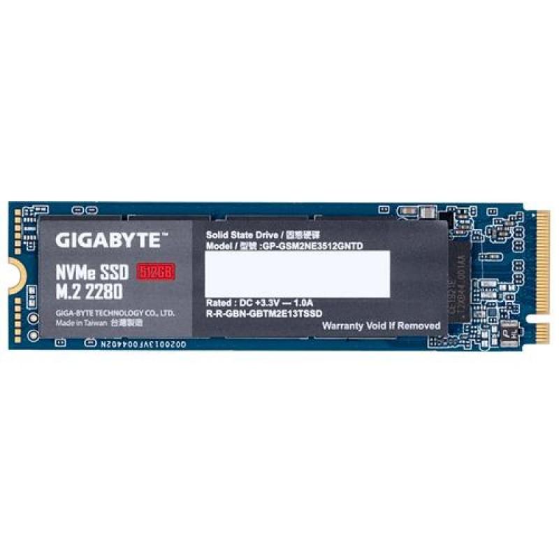Gigabyte GP-GSM2NE3512GNTD internal solid state drive M.2 512 GB PCI Express 3.0 NVMe