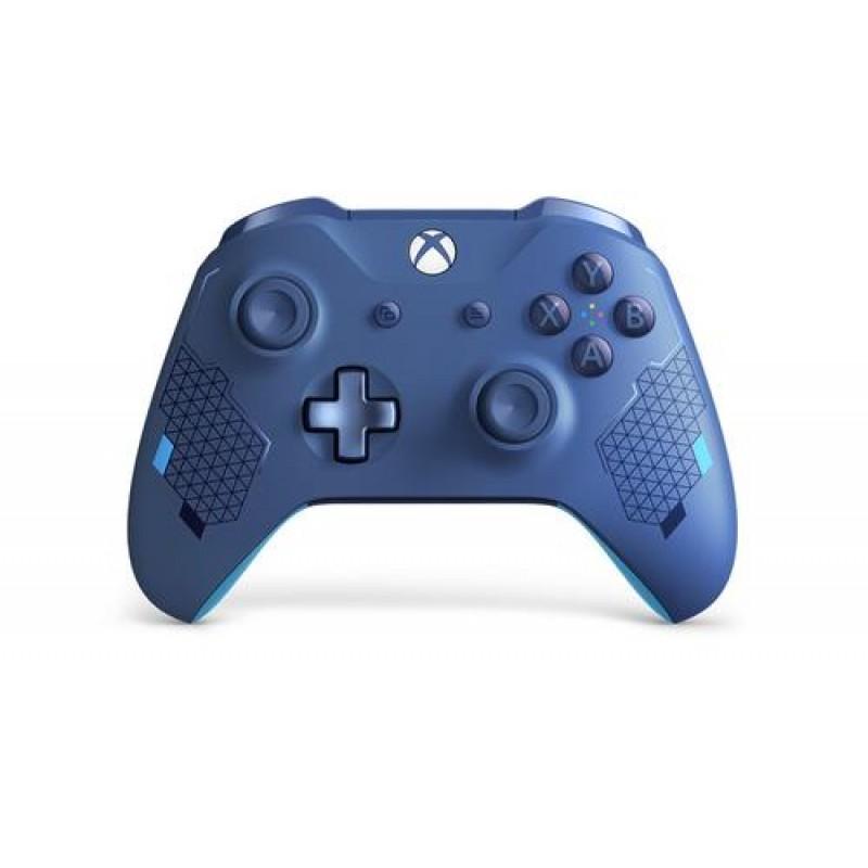 Microsoft Xbox Wireless Sport Blue Special Edition Gamepad PC,Xbox One,Xbox One S,Xbox One X Analogue / Digital Bluetooth