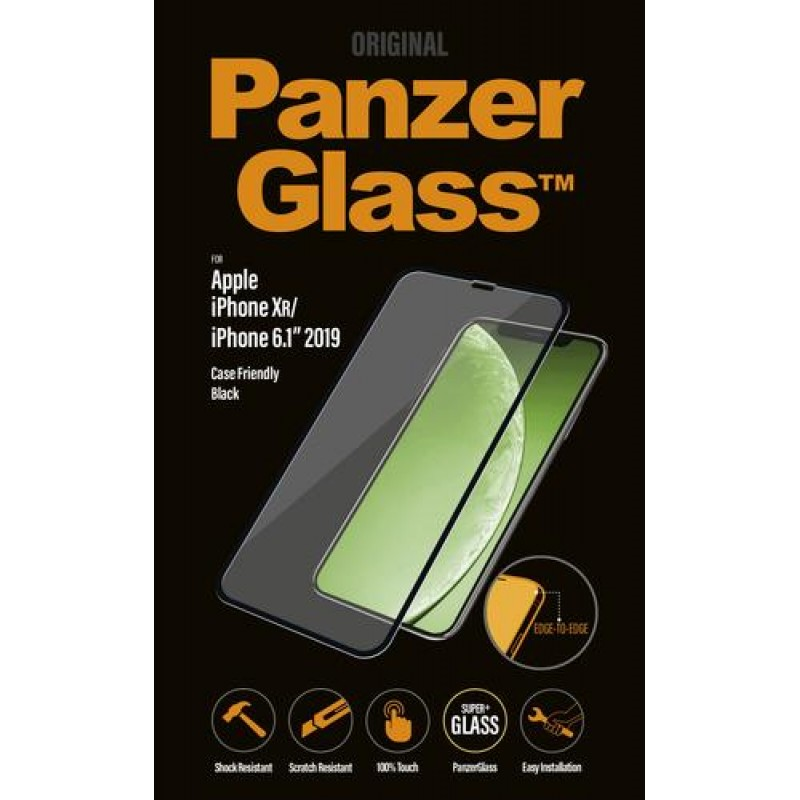 PanzerGlass 2665 screen protector Clear screen protector Mobile phone/Smartphone Apple 1 pc(s) Black,Translucent