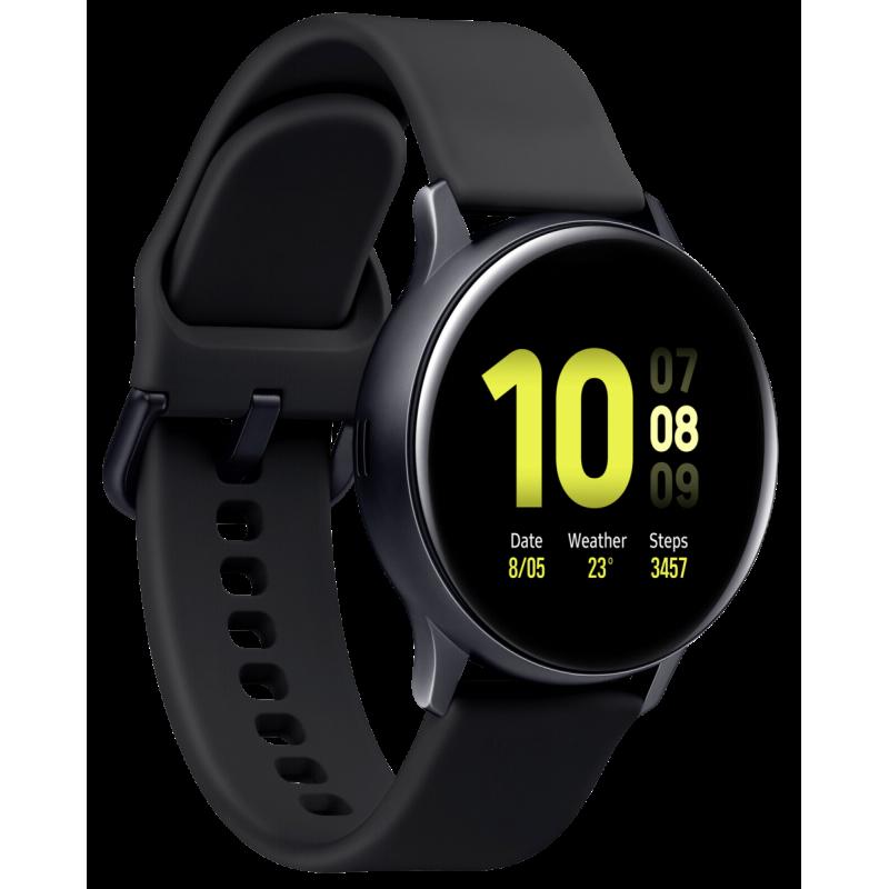 Samsung Galaxy Watch Active 2 smartwatch Black SAMOLED 3.05 cm (1.2