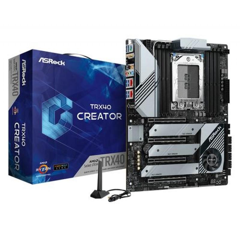 Asrock TRX40 Creator motherboard sTRX4 ATX AMD TRX40