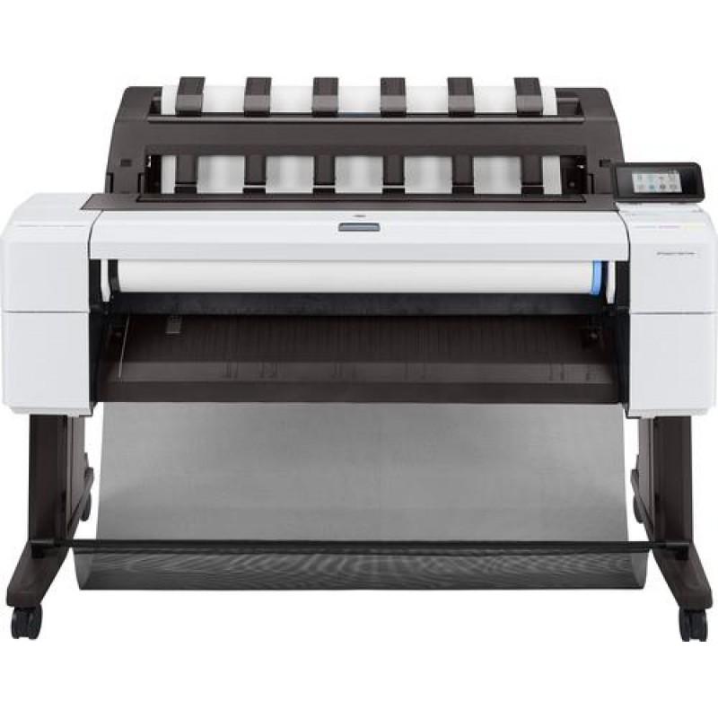HP Designjet T1600 large format printer Colour 2400 x 1200 DPI Thermal inkjet 914 x 1219 mm Ethernet LAN Black,White