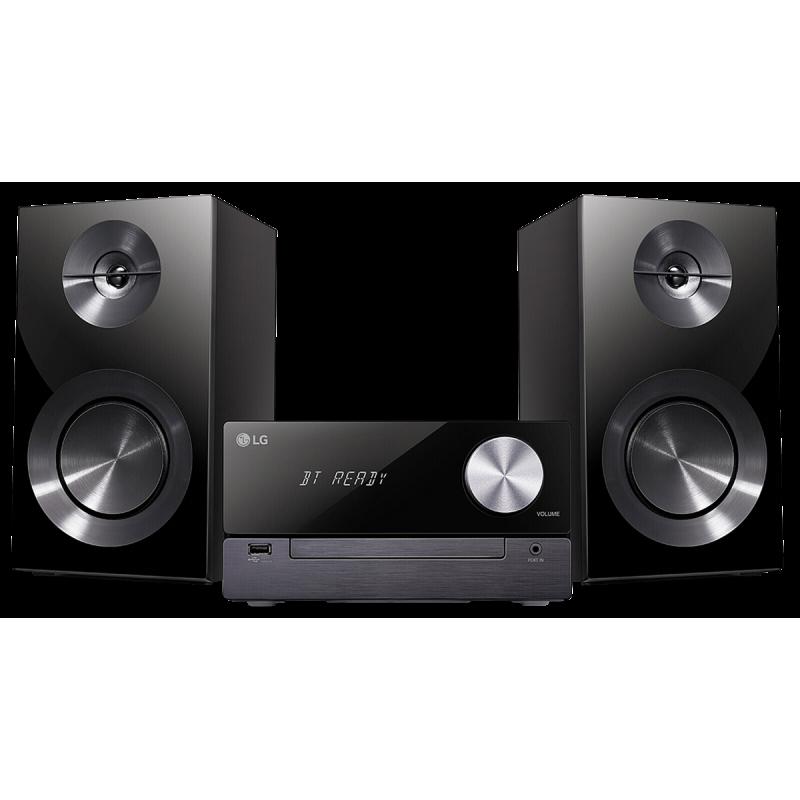 LG XBoom Micro Hi-Fi Home audio micro system Black 100 W