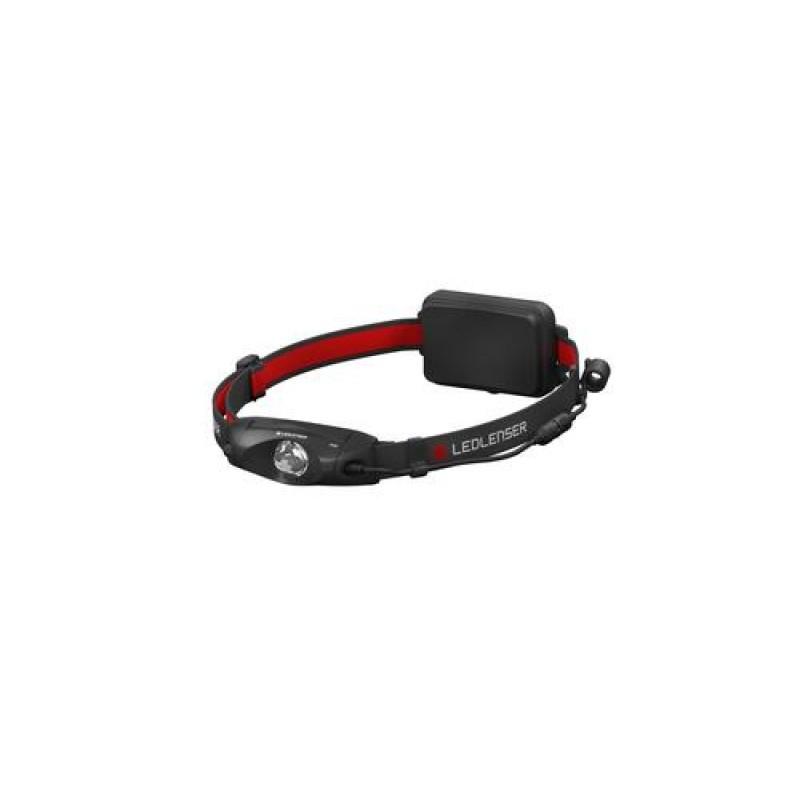 Led Lenser H4R Headband flashlight Black,Red