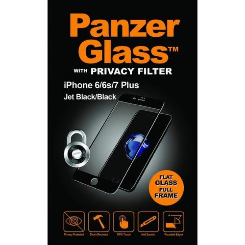PanzerGlass P2619 screen protector Clear screen protector Mobile phone/Smartphone Apple 1 pc(s) Black,Transparent