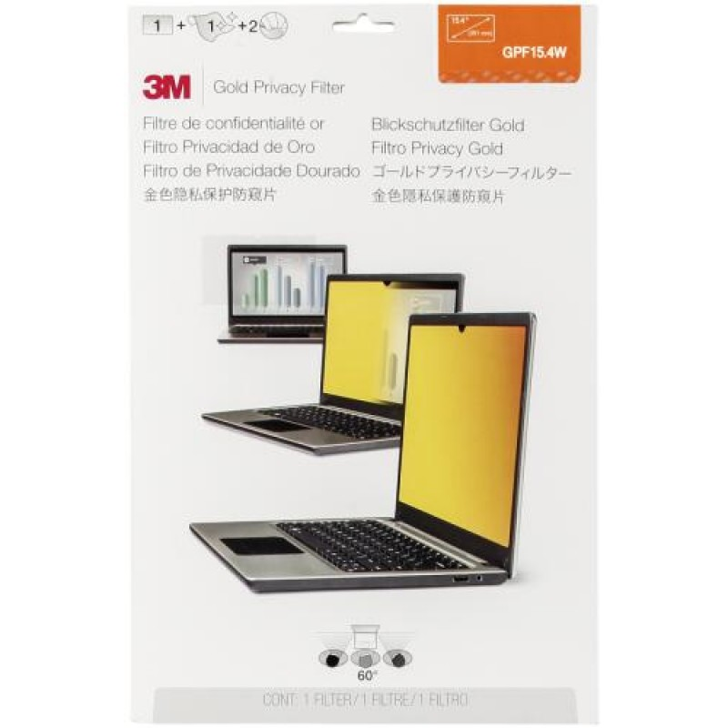 3M GPF154W Privacy Filter Gold for 391cm 154  1610