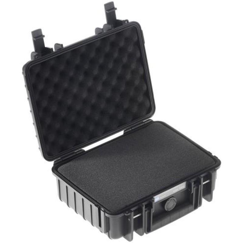 B&W 1000/B/SI camera case Hard case Black