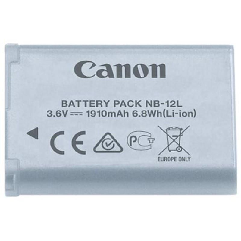Canon NB-12L Lithium-Ion (Li-Ion) Grey