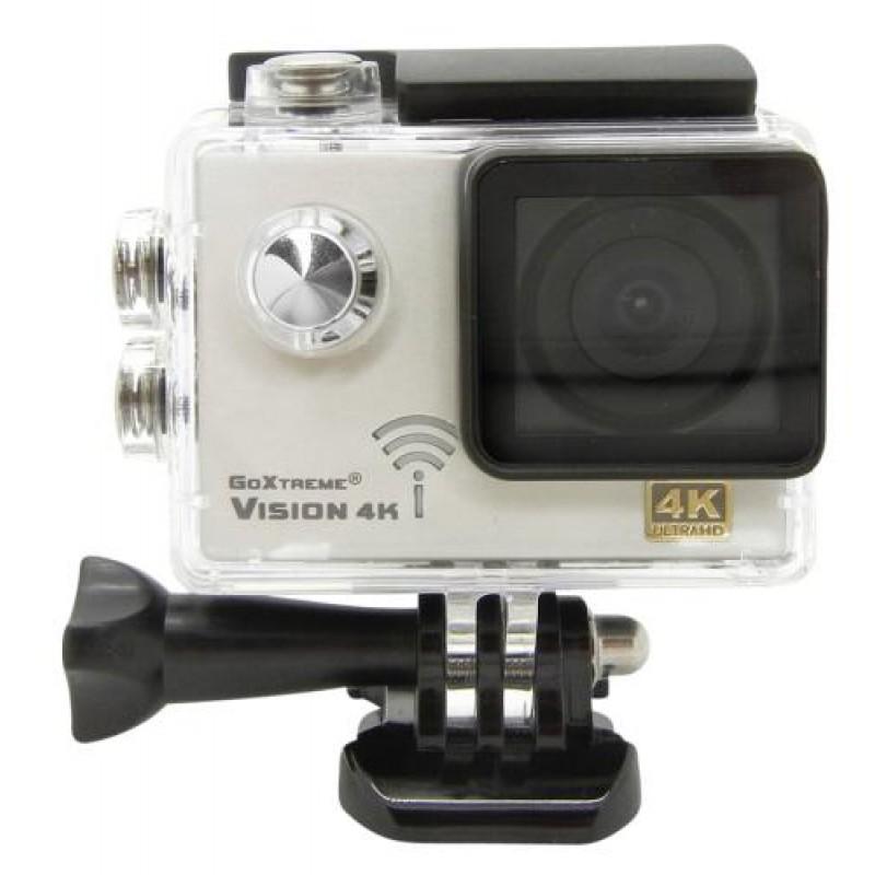 Easypix GoXtreme Vision action sports camera 4K Ultra HD 12 MP Wi-Fi Black,White