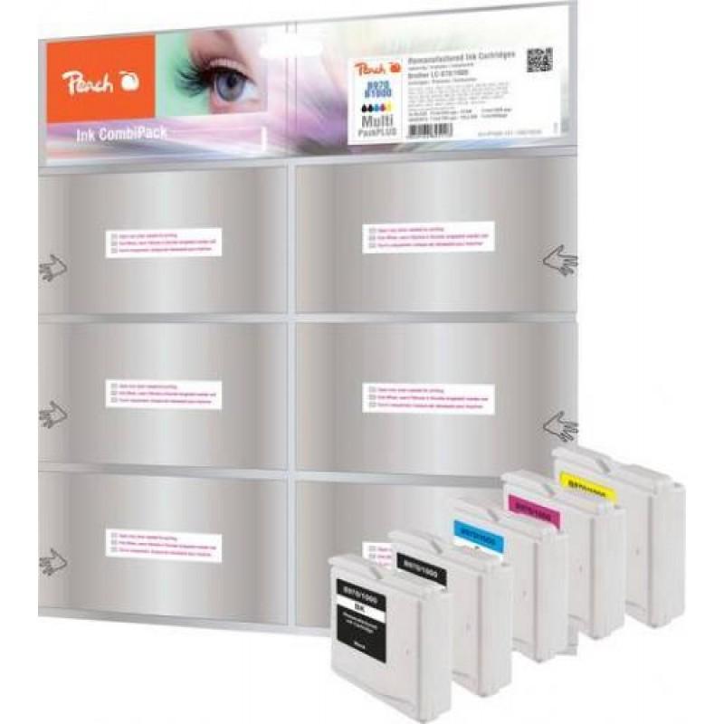 Peach 319255 ink cartridge Black,Cyan,Magenta,Yellow Multipack 5 pc(s)
