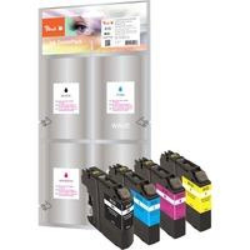 Peach PI500-85 ink cartridge Black,Cyan,Magenta,Yellow Multipack