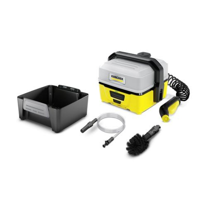 Kärcher OC 3 + Adventure pressure washer Compact Battery Black,Yellow 120 l/h