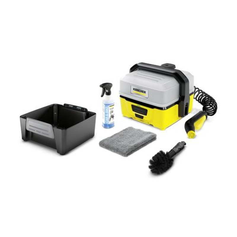 Kärcher OC 3 + Bike pressure washer Compact Battery Black,Yellow 120 l/h
