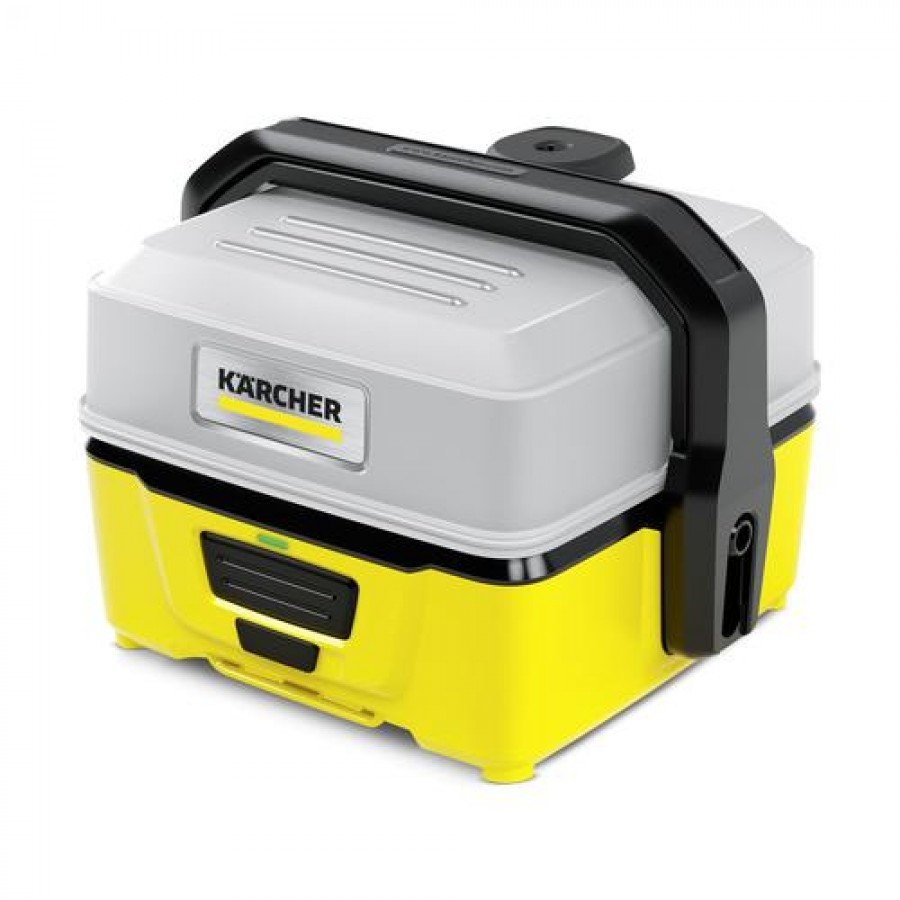 Kärcher OC 3 pressure washer Compact Battery Black,Yellow 120 l/h