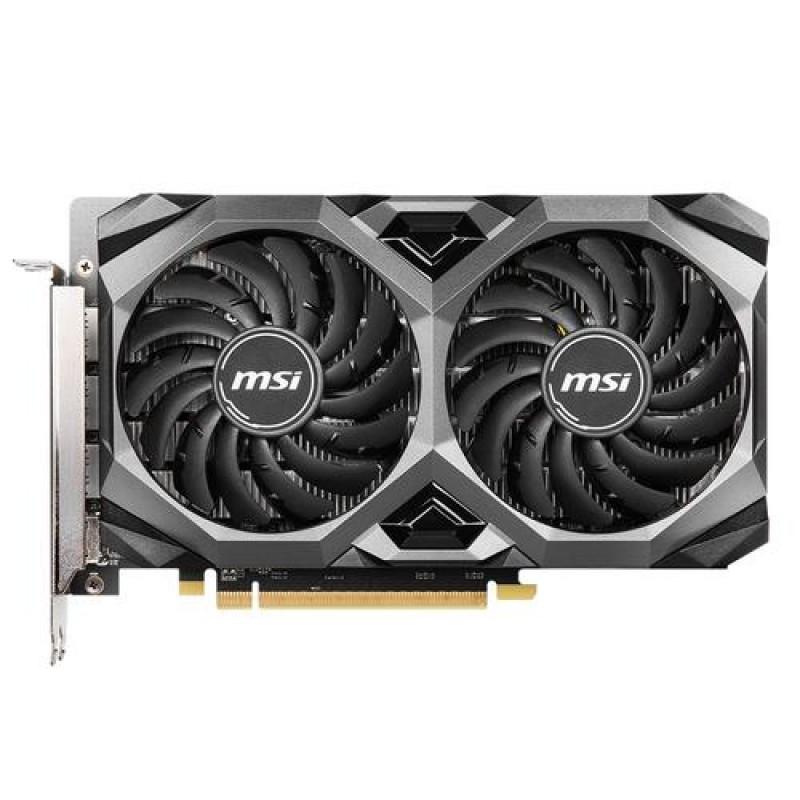 MSI RX 5500 XT MECH 4G OC graphics card Radeon RX 5500 XT 4 GB GDDR6 Black