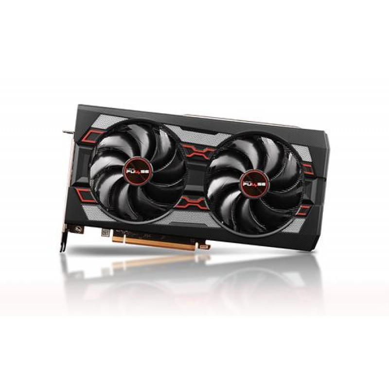 Sapphire PULSE RX 5600 XT 6G GDDR6 Radeon RX 5600 XT 6 GB Black,Red