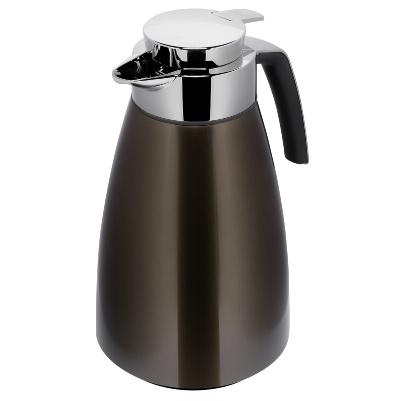 Emsa Bell thermal jug stainless steel 15l chocolate 513817