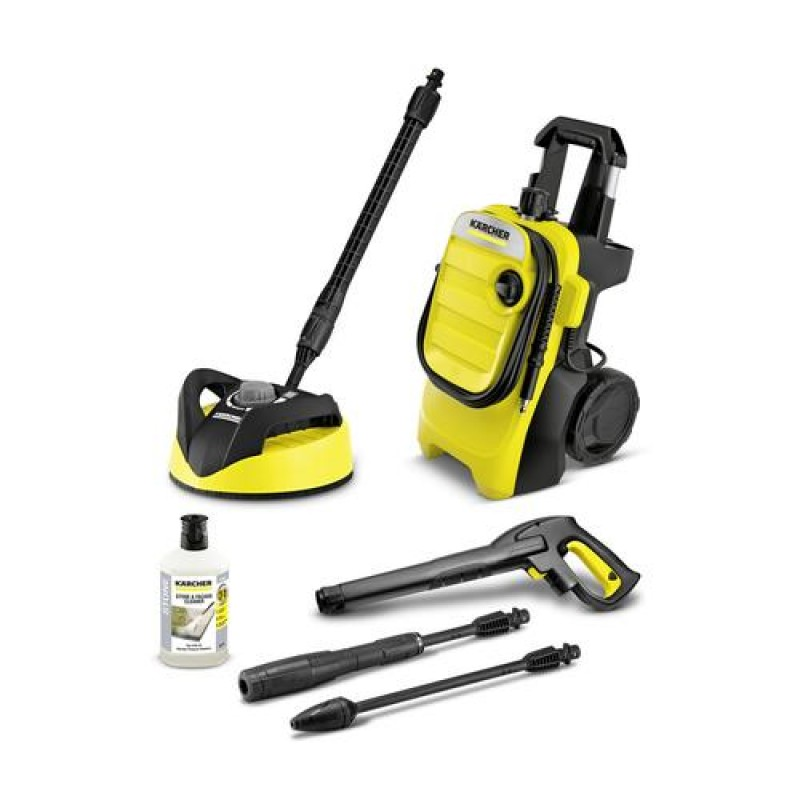 Kärcher K 4 COMPACT HOME pressure washer Upright Electric Black,Yellow 420 l/h 1800 W
