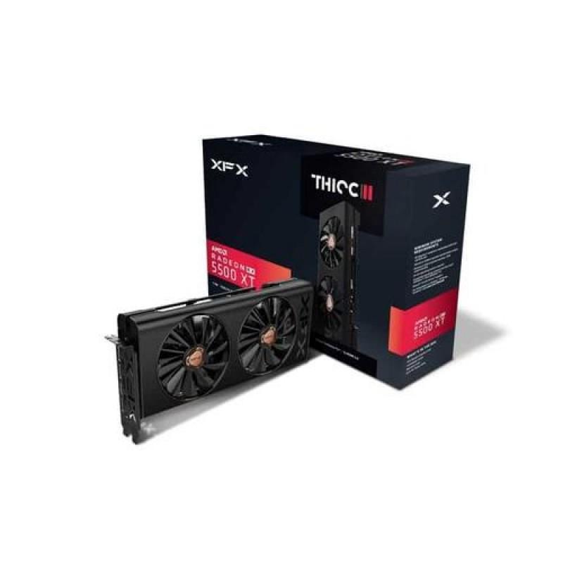 XFX RX-55XT8DFD6 graphics card Radeon RX 5500 XT 8 GB GDDR6 Black