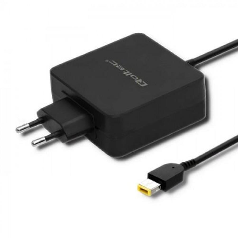 Qoltec 51766 power adapter/inverter Indoor 65 W Black