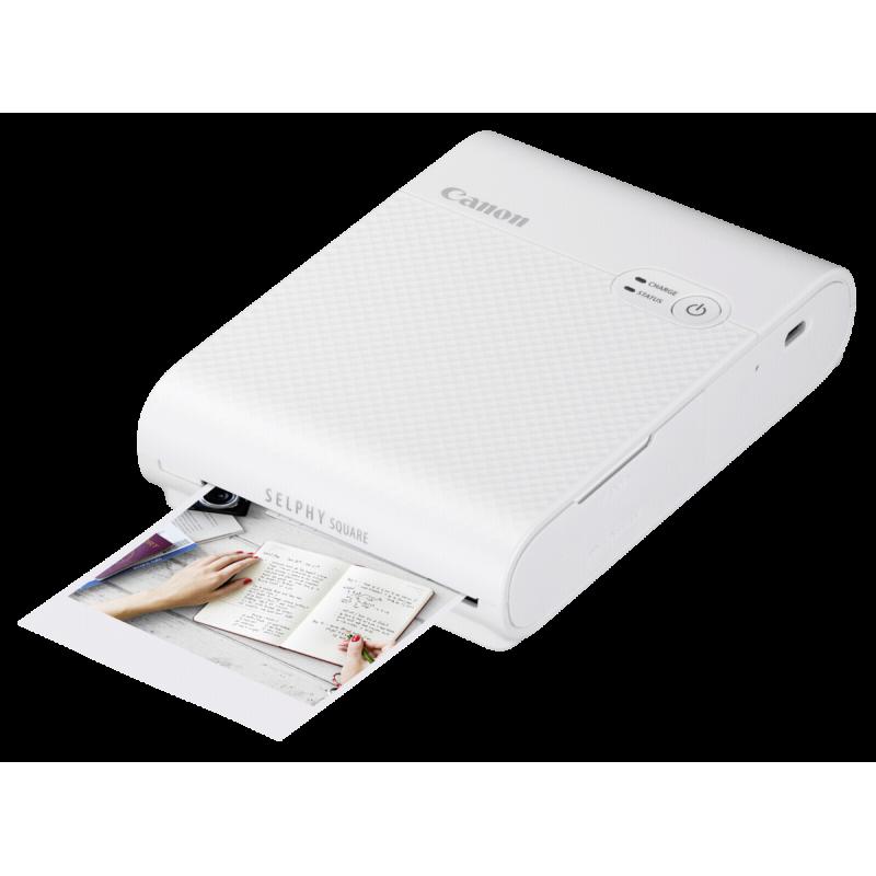 Canon SELPHY Square QX10 photo printer Dye-sublimation 287 x 287 DPI Wi-Fi White