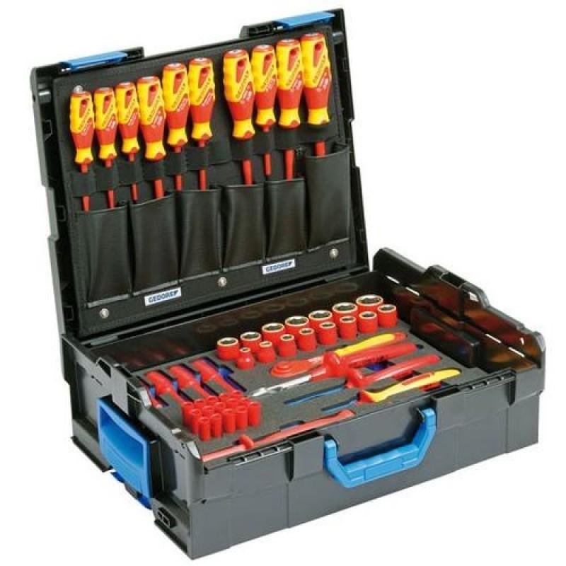 Gedore VDE Werkzeugsortiment Hybrid 53teilig WerkzeugSet