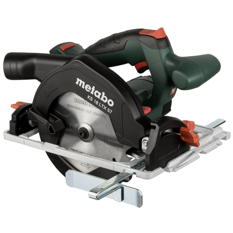 Metabo KS 18 LTX 57 Black,Green,Red,Silver 16.5 cm 4600 RPM