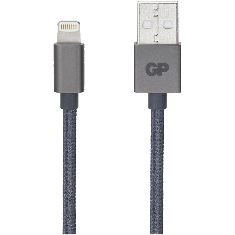 GP charging  sync cable CL1A 1m USBALightning grey 160GPCL1AC1