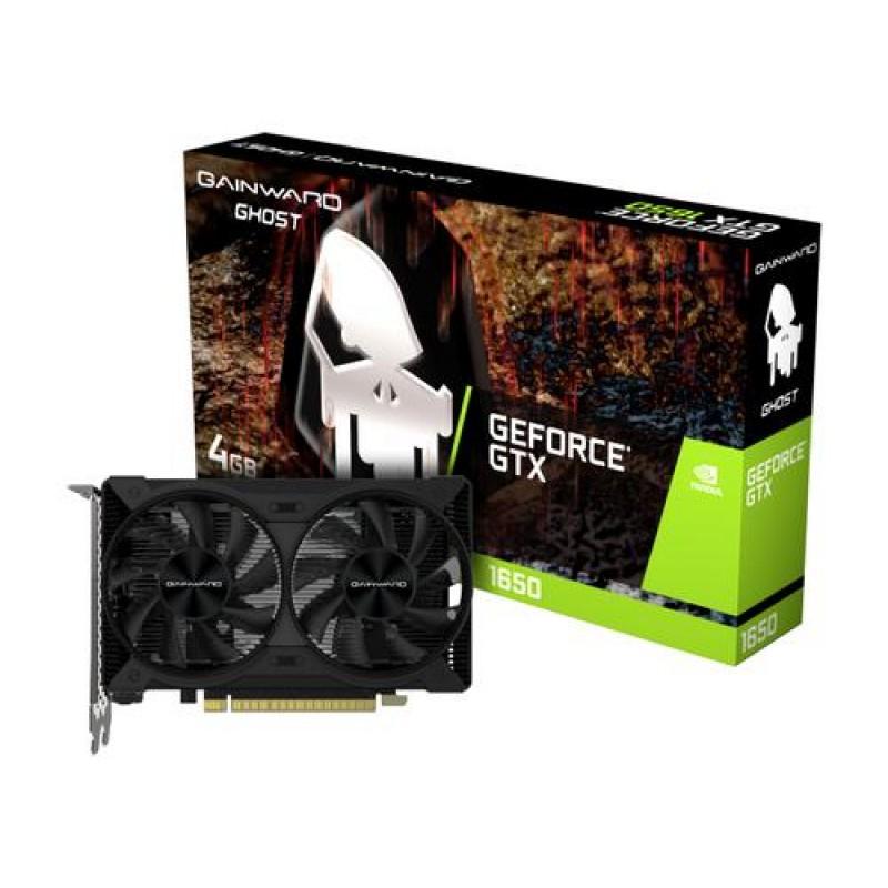 Gainward 471056224-1808 NVIDIA GeForce GTX 1650 4 GB GDDR6 Black