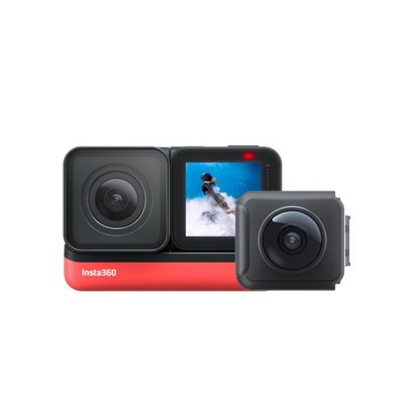 Insta360 ONE R Twin Edition action sports camera Wi-Fi 130.5 g Black,Red