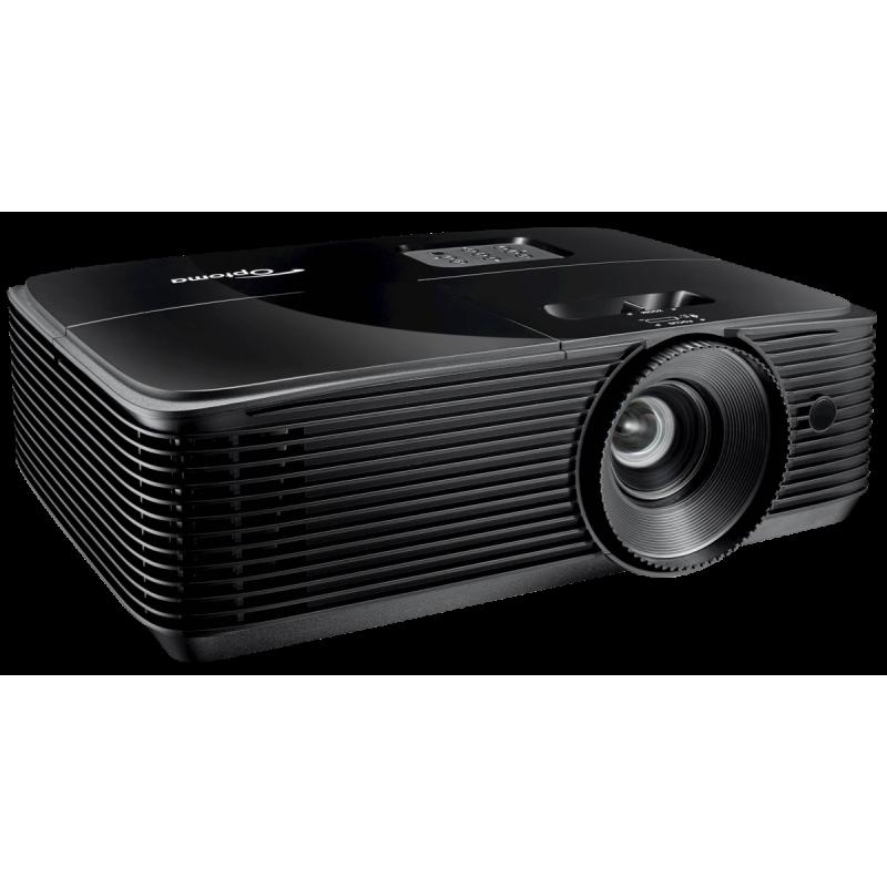 Optoma HD28e data projector 3800 ANSI lumens DLP 1080p (1920x1080) 3D Desktop projector Black