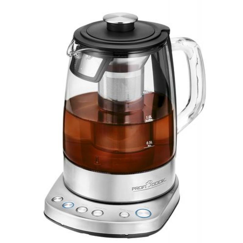 ProfiCook PC-WKS 1167G tea maker 1.5 L 2200 W Berry,Stainless steel