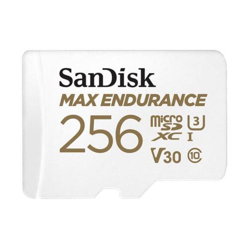 Sandisk MAX ENDURANCE memory card 256 GB MicroSDXC Class 10 UHS-I White