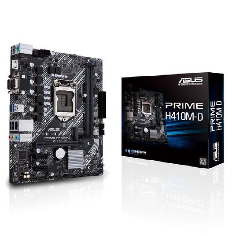 ASUS PRIME H410M-D motherboard Micro ATX Intel H410