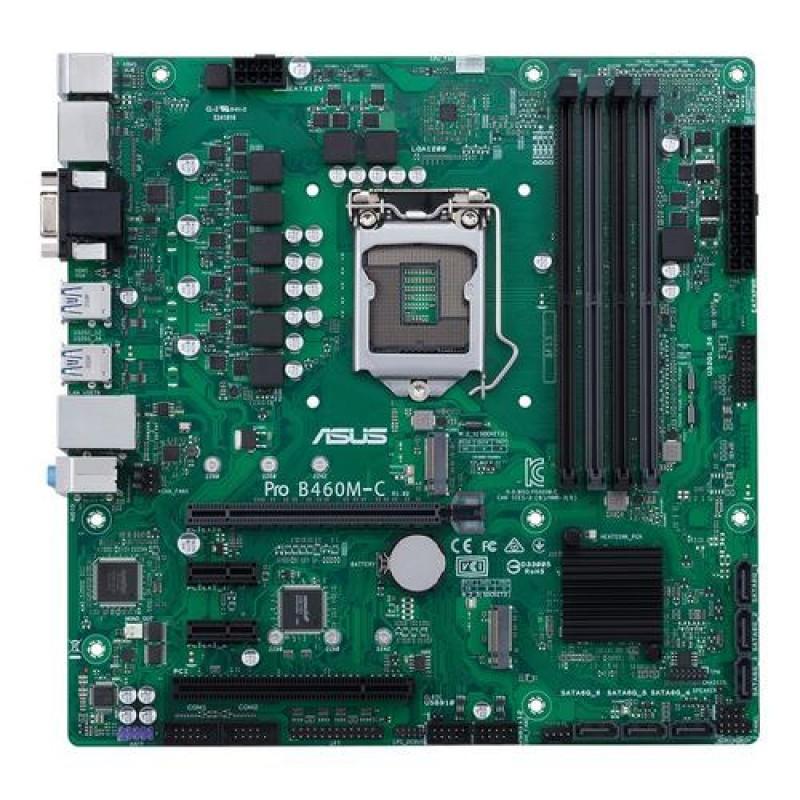 ASUS PRO B460M-C/CSM LGA 1200 micro ATX Intel B460