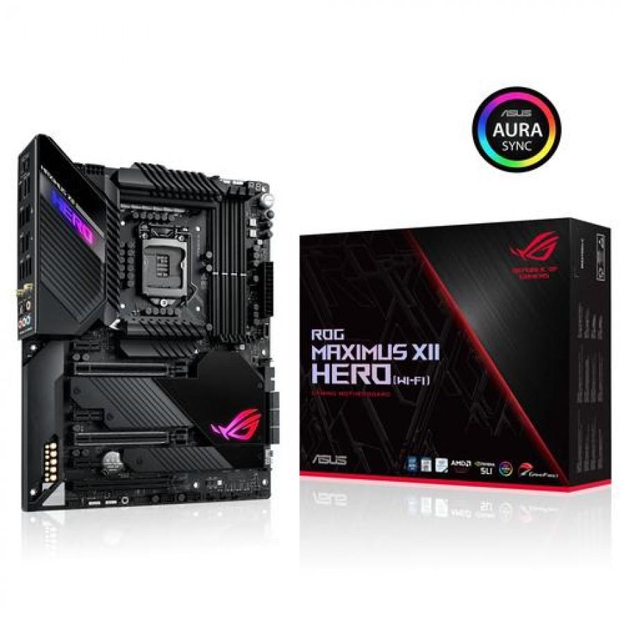 ASUS ROG MAXIMUS XII HERO WIFI motherboard LGA 1200 Intel Z490