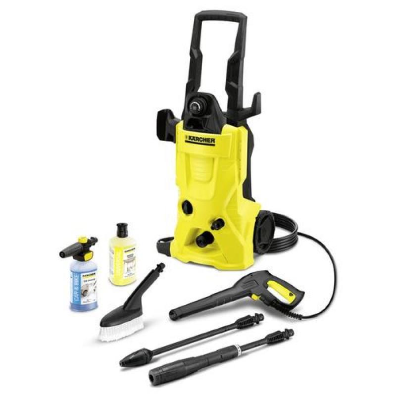 Kärcher K 4 Alu 25 Lat pressure washer Upright Electric Black,Yellow 420 l/h