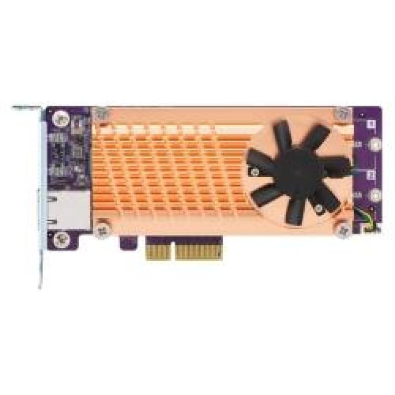 QNAP QM2-2S10G1TA interface cards/adapter M.2,RJ-45 Internal