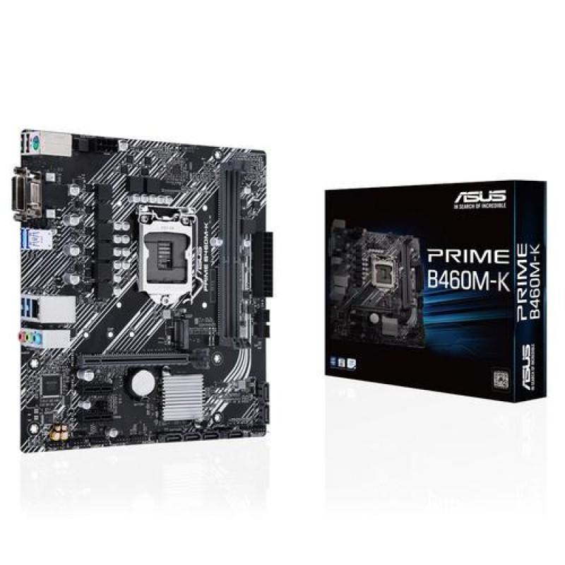 ASUS PRIME B460M-K motherboard Micro ATX Intel B460