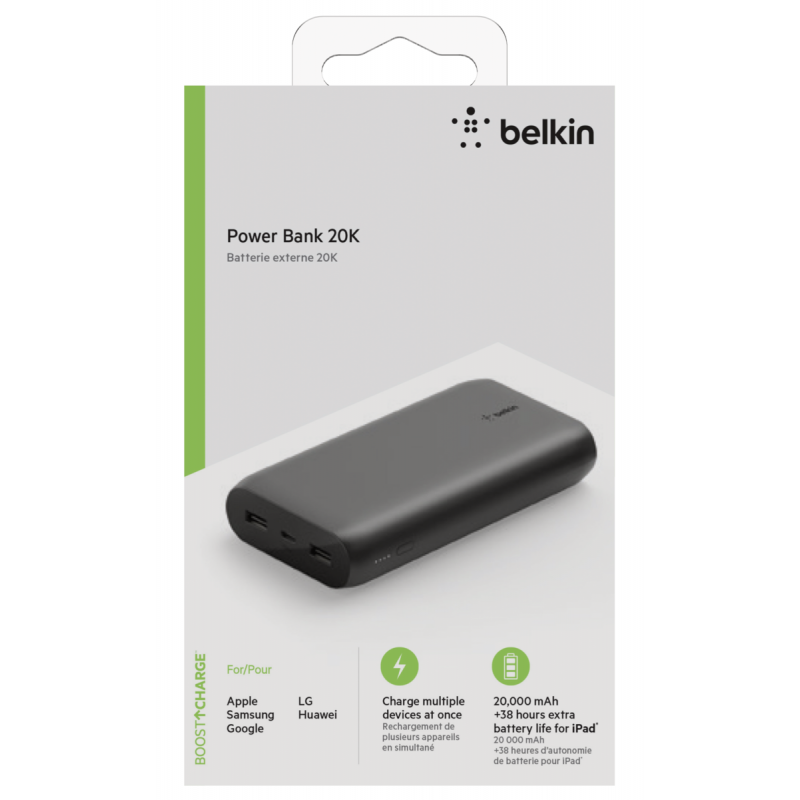 Belkin Power Bank 20000mAh black BPB003btBK