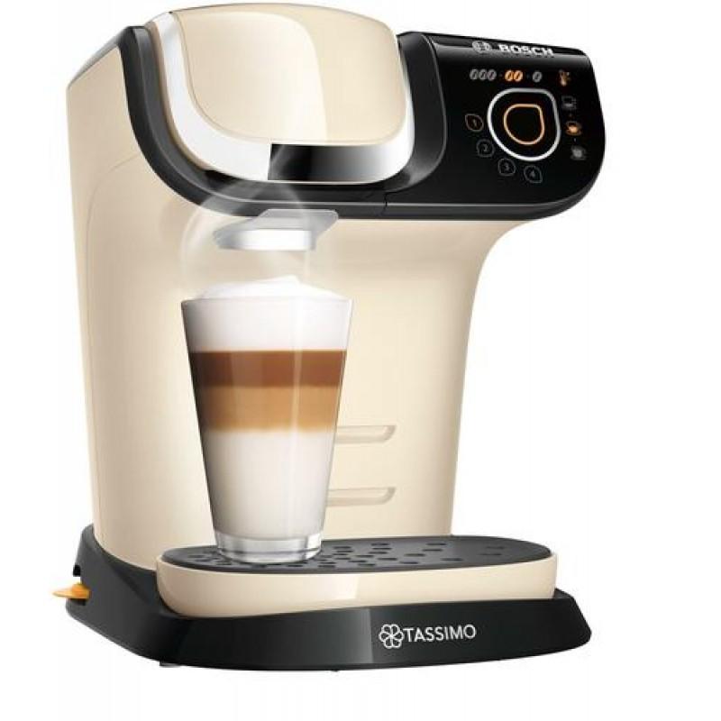 Bosch TAS6507 coffee maker Pod coffee machine 1.3 L Fully-auto Beige,Black