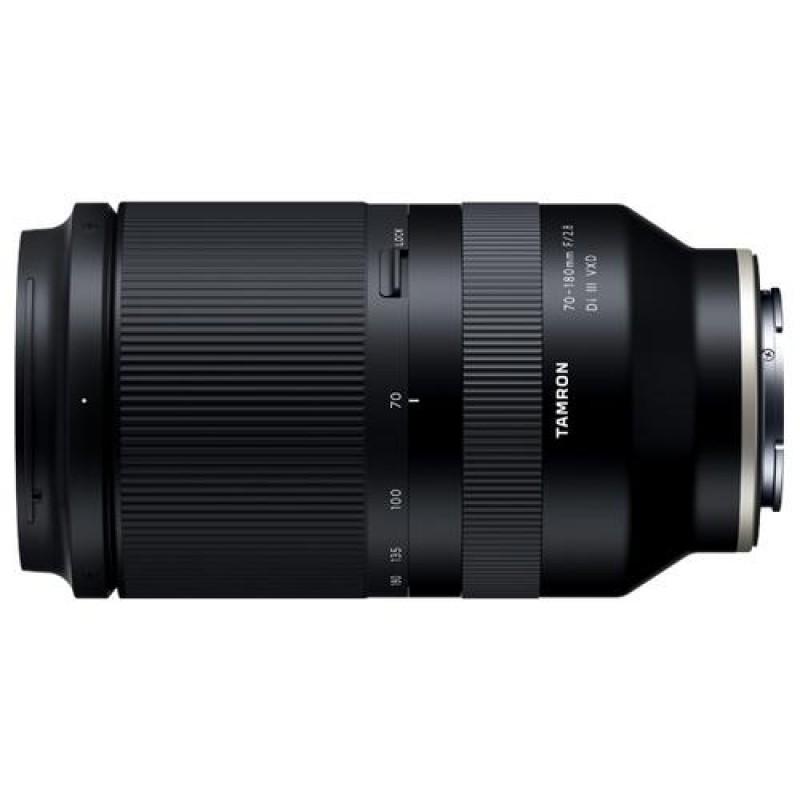 Tamron 70-180mm F/2.8 Di III VXD MILC Telephoto zoom lens Black